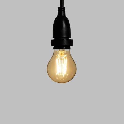 LED Tropfenbirne -  6cm 4W E27 - Für Lichterkette