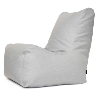 Loungebag - Seat Sessel - Stoff Riviera Grau