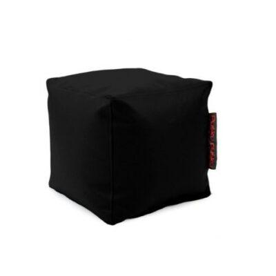 Loungebag - Sitzwürfel UP! - Stoff Outside Schwarz
