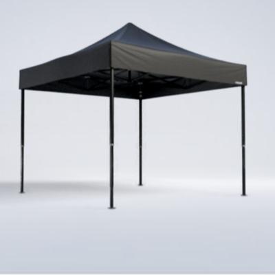 Pavillon - 3m x 3m - schwarz - Mastertent
