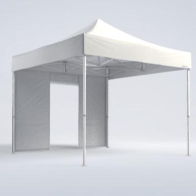 Pavillon - Seitenwand mit Tür 3m - weiß - Mastertent