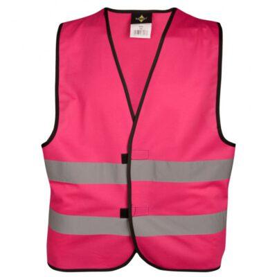 Sicherheitsweste - pink
