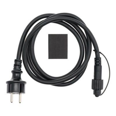 VINTAGE LED PRO Netzkabel 1,5 m, schwarz - Für Lichterkette