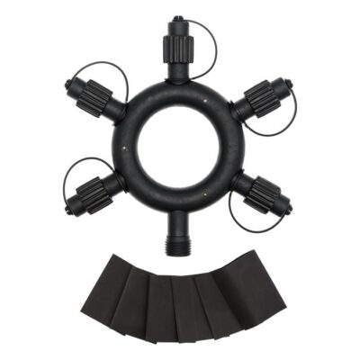 VINTAGE LED PRO runder Multiverbinder, 5 Ausgänge - Für Lichterkette